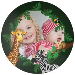Thumbnail for 10x10 Melamine Photo Plate with Jungle design 1