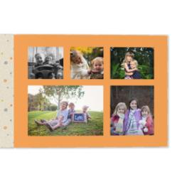 Thumbnail for 11x14 Premium Layflat Photo Book with Kraft Paper Pop design 4