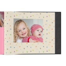 Thumbnail for 8x11 Linen Cover Photo Book with Kraft Paper Pop design 4