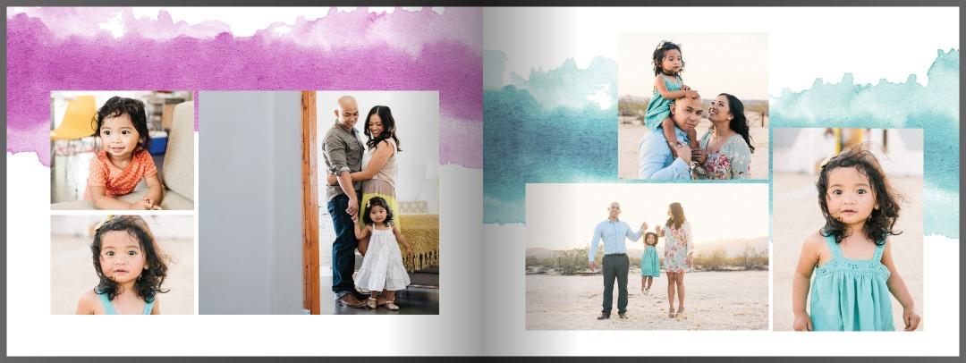Custom 5×7 Photo Book in 1-Hou...