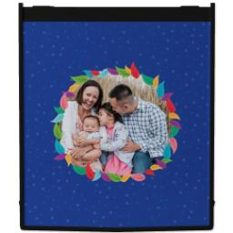 Thumbnail for Reusable Grocery Bag with Colorful Wreath design 1