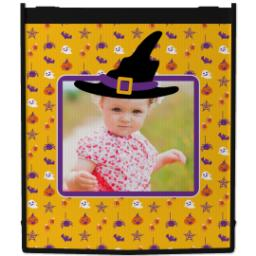 Thumbnail for Reusable Grocery Bag with Halloween Hat design 1