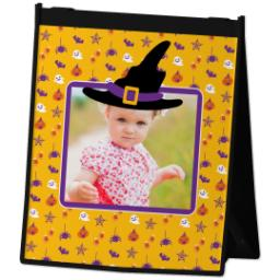 Thumbnail for Reusable Grocery Bag with Halloween Hat design 2