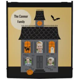 Thumbnail for Reusable Grocery Bag with Haunted House design 1