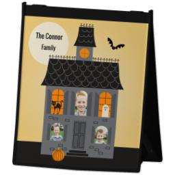 Thumbnail for Reusable Grocery Bag with Haunted House design 2