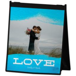 Thumbnail for Reusable Grocery Bag with Love Dip Dye design 2