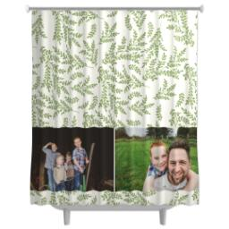 Thumbnail for Photo Shower Curtain with Foliage Photo design 2