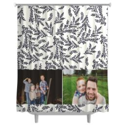 Thumbnail for Photo Shower Curtain with Foliage Photo design 3