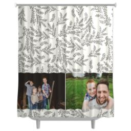 Thumbnail for Photo Shower Curtain with Foliage Photo design 4