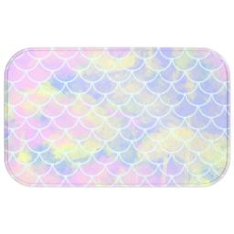 Thumbnail for Photo Bath Mat with Mermaid Scales design 1