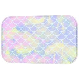 Thumbnail for Photo Bath Mat with Mermaid Scales design 3