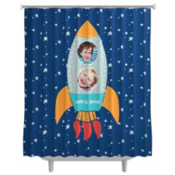 Thumbnail for Photo Shower Curtain with Rocket design 1