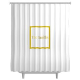 Thumbnail for Photo Shower Curtain with Simple Border design 1
