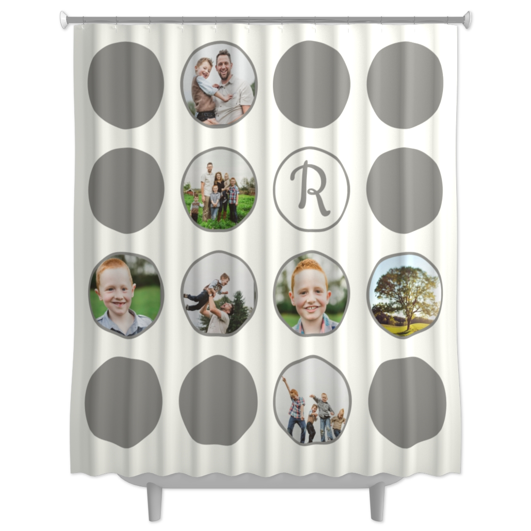 This printing shower curtain turns your bathroom from top to bottom. Customize your angry face on the shower curtain and turn it into a cute reminder for those who take showers for so long!
