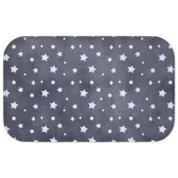 Thumbnail for Photo Bath Mat with Starry Clouds design 1