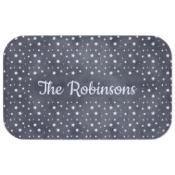 Thumbnail for Photo Bath Mat with Starry Clouds design 3