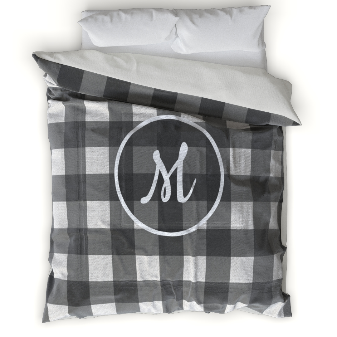 This custom duvet cover, written in remarkable detail, is an immediate focal point of any space. With cotton blend fabric, the texture gives dimension and a distinctive look and feel. This unique duvet cover will be a romantic gift for wife and husband.