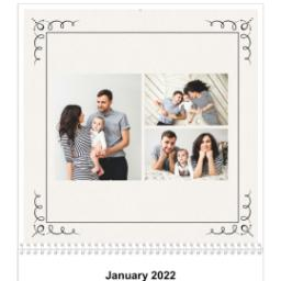 Thumbnail for 12x12, 12 Month Photo Calendar with Art Deco design 3