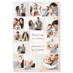 Thumbnail for 16x24 Photo Canvas with Beautiful Reasons design 1