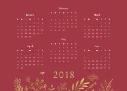 Thumbnail for 5x7 Scalloped Card Stock (Set Of 20) with Firefly Calendar design 1