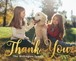 Thank You Cards Photo