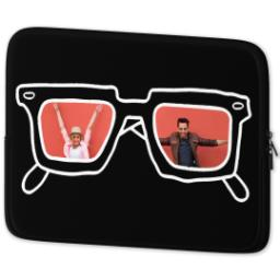 Thumbnail for Laptop Case with BW Hipster design 2