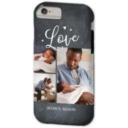 Thumbnail for iPhone 6 Custom Case-Mate Tough Phone Case with Chalkboard Love Script design 2