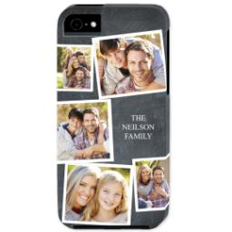 Thumbnail for iPhone 5 Custom Photo Case-Mate Tough Case with Chalkboard Photo Design design 1