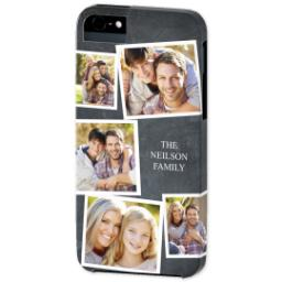 Thumbnail for iPhone 5 Custom Photo Case-Mate Tough Case with Chalkboard Photo Design design 2