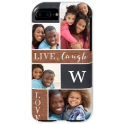 Thumbnail for iPhone 7 Tough Case with Collage Monogram design 1