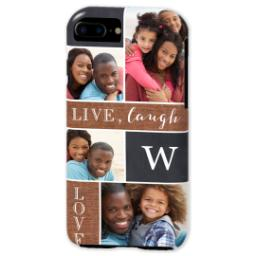 Thumbnail for iPhone 7 Tough Case with Collage Monogram design 2