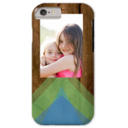 Thumbnail for iPhone 6 Custom Case-Mate Tough Phone Case with Geo Rustic design 1