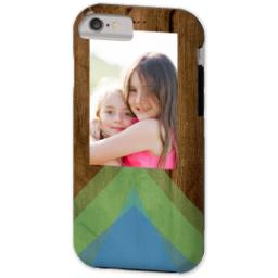 Thumbnail for iPhone 6 Custom Case-Mate Tough Phone Case with Geo Rustic design 2