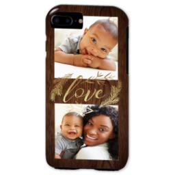 Thumbnail for iPhone 7 Tough Case with Rustic Love design 2