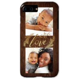 Thumbnail for iPhone 7 Plus Tough Case with Rustic Love design 1