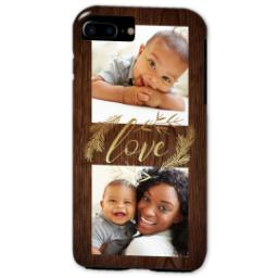 Thumbnail for iPhone 7 Plus Tough Case with Rustic Love design 2