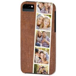 Thumbnail for iPhone 5 Custom Photo Case-Mate Tough Case with Woodgrain Film Strip design 2