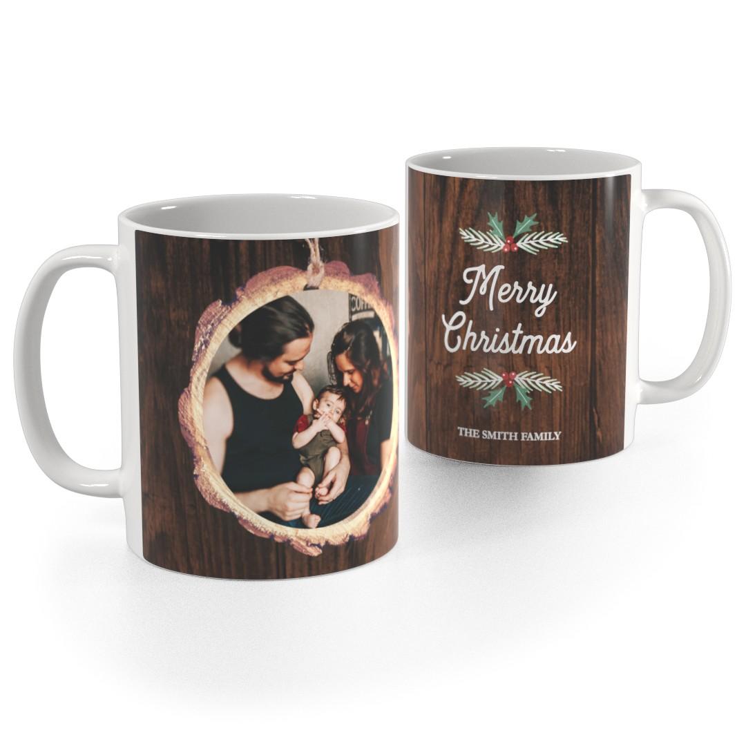 11oz 15oz Mugs White Photo Mug 11oz Family Christmas Tree