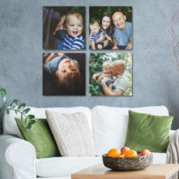 "Thumbnail for 4 Piece Multi-Piece Canvas (34"" x 34"") with Four Square: Multi Photo design 4"