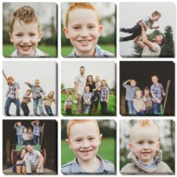 "Thumbnail for 9 Piece Multi-Piece Canvas (31"" x 31"") with Nine Photo Burst: Multi Photo design 1"