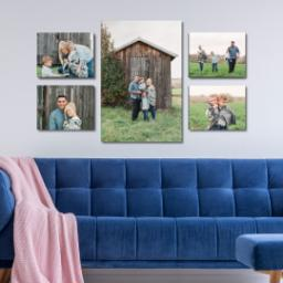 "Thumbnail for 5 Piece Multi-Piece Canvas (30"" x 52"") with Impression Collection: Multi Photo design 4"