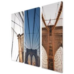 "Thumbnail for 3 Piece Multi-Piece Canvas (36""x 36"") with Grand Window Pane: Multi Photo design 2"