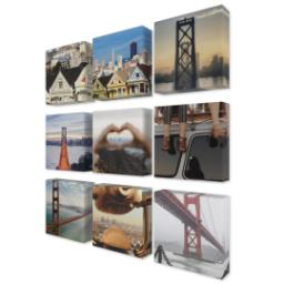 "Thumbnail for 9 Piece Mini Canvas Cluster (19""x 19"") with Fabulous 9 Collection: Multi Photo design 2"
