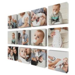 "Thumbnail for 12 Piece Mini Canvas Cluster (19""x 26"") with Expression Collection: Multi Photo design 2"