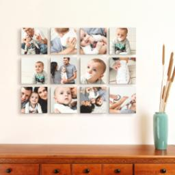 "Thumbnail for 12 Piece Mini Canvas Cluster (19""x 26"") with Expression Collection: Multi Photo design 4"