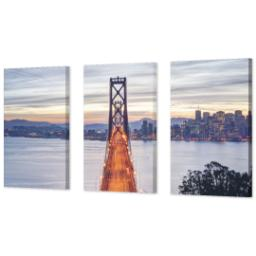 "Thumbnail for 3 Piece Canvas Cluster (24"" x 52"") with Three Of A Kind: Full Photo design 2"