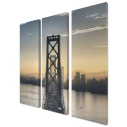 "Thumbnail for 3 Piece Multi-Piece Canvas (36""x 36"") with Grand Window Pane: Full Photo design 2"