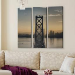 "Thumbnail for 3 Piece Multi-Piece Canvas (36""x 36"") with Grand Window Pane: Full Photo design 4"