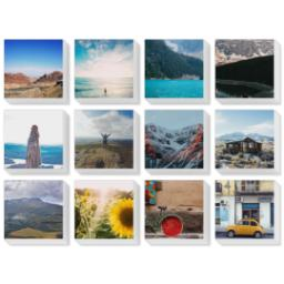 "Thumbnail for 12 Piece Mini Multi-Piece Canvas (19""x 26"") with Expression Collection: White Border design 1"