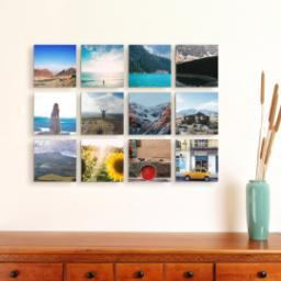 "Thumbnail for 12 Piece Mini Multi-Piece Canvas (19""x 26"") with Expression Collection: White Border design 4"